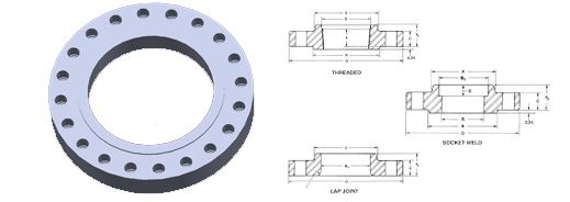 Studding Outlet Flanges Suppliers, Manufacturers, Dealers and Exporters in India